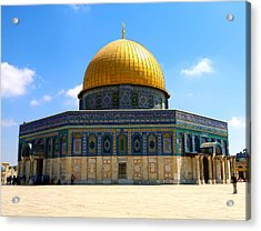 The Gold Dome Acrylic Print by Heidi Pix
