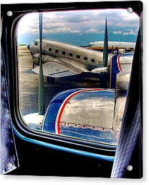 The Golden Age Of Flight -- Color Version Acrylic Print