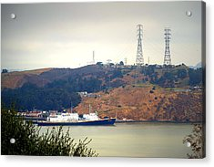 The Golden Bear At Carquinez Strait Acrylic Print
