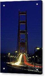 The Golden Gate Bridge Twilight Acrylic Print