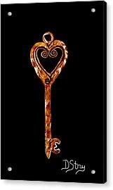 The Golden Key Acrylic Print