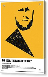 The Good Bad Ugly Clint Eastwood Poster Acrylic Print