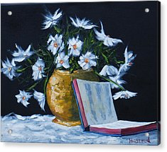 The Good Book... Acrylic Print by Brian Hustead