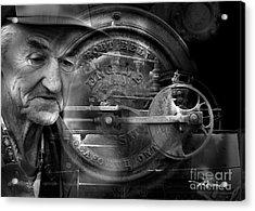 The Good Old Days Acrylic Print by Bob Salo