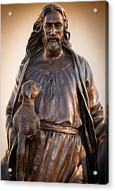 Acrylic Print featuring the photograph The Good Shepard by Monte Stevens