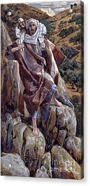 The Good Shepherd Acrylic Print by Tissot