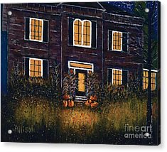 The Good Witch Grey House Acrylic Print