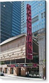 The Goodman Theater Acrylic Print