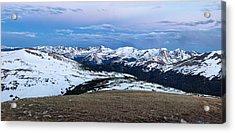 The Gore Range At Sunrise - Rocky Mountain National Park Acrylic Print by Ronda Kimbrow