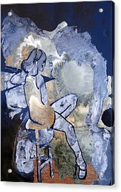 the Graduate Acrylic Print by Amy Bernays