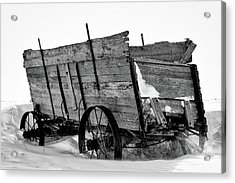 The Grain Wagon Acrylic Print