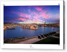 The Gran Harbour Acrylic Print