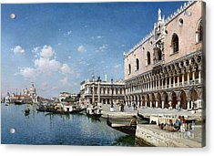 The Grand Canal Acrylic Print by Celestial Images