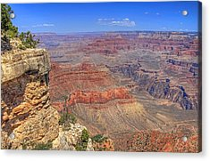 The Grand Canyon Acrylic Print by Donna Kennedy