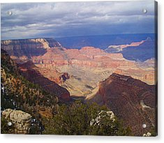 The Grand Canyon Acrylic Print by Marna Edwards Flavell