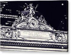 The Grand Central Terminal Acrylic Print by Dan Sproul