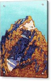 The Grand Teton Acrylic Print by Abbie Groves