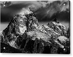 Acrylic Print featuring the photograph The Grand Teton by Gary Lengyel