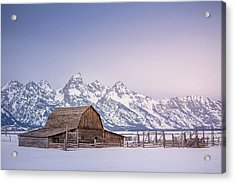 The Grand Tetons Acrylic Print