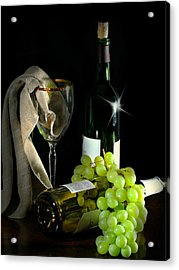 The Grapes Acrylic Print by Diana Angstadt