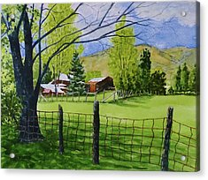 The Grass Is Greener Acrylic Print by Don Bosley