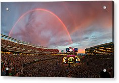 The Grateful Dead Rainbow Of Santa Clara, California Acrylic Print by Beau Rogers