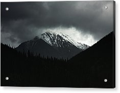 Turbulence Over Torreys Acrylic Print
