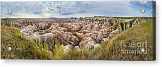 Deep And Wide Panorama Acrylic Print