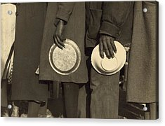 The Great Depression. African Americans Acrylic Print by Everett