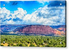 Acrylic Print featuring the photograph The Great Divide by AJ Schibig