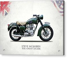 The Great Escape Motorcycle Acrylic Print