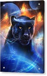 The Great Feline Acrylic Print by Philip Straub