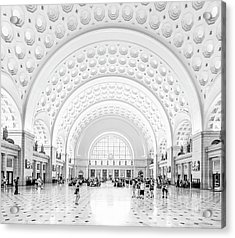 Acrylic Print featuring the photograph The Great Hall by Ryan Wyckoff