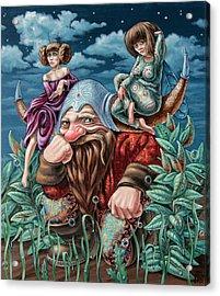 The Great Horns Acrylic Print