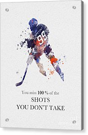 The Great One Quote Acrylic Print
