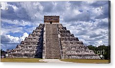 The Great Pyramid Of Chitzen Itza Acrylic Print