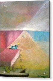 The Great Return Acrylic Print by Philip Okoro