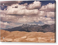 The Great Sand Dunes 88 Acrylic Print by James BO  Insogna