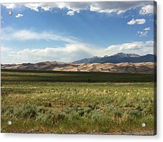 The Great Sand Dunes Acrylic Print