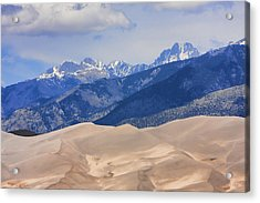 The Great Sand Dunes Color Print 45 Acrylic Print by James BO  Insogna