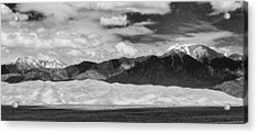 The Great Sand Dunes Panorama 2 Acrylic Print by James BO  Insogna