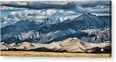 The Great Sand Dunes Panorama Acrylic Print