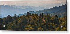 The Great Smokey Mountains Acrylic Print