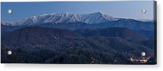 The Great Smoky Mountains Acrylic Print by Everet Regal