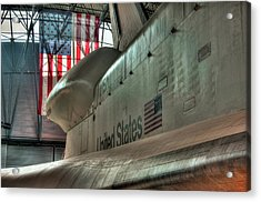 The Great Space Race Acrylic Print