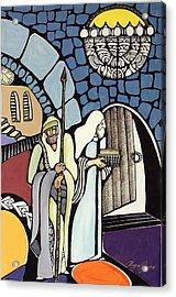 The Great Synagogue Of Jerusalem  Acrylic Print by Maya Green