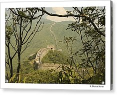The Great Wall Acrylic Print