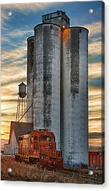 The Great Western Sugar Mill Longmont Colorado Acrylic Print by James BO  Insogna