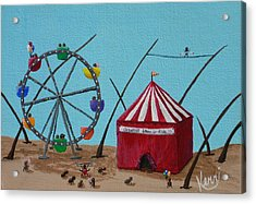 The Greatest Show On Fido Acrylic Print