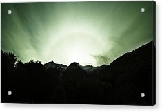 Acrylic Print featuring the photograph The Green Dream by Odille Esmonde-Morgan